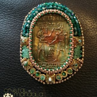 Egyptian Jewelry Brooch