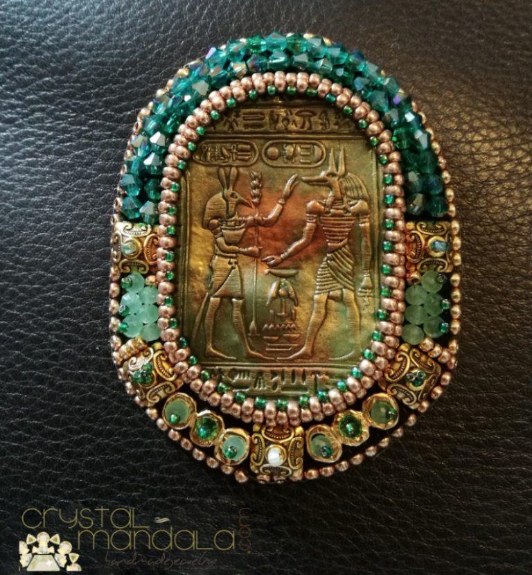 Egyptian Jewelry Brooch