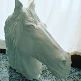 Horse head Sculpture by machegioia®