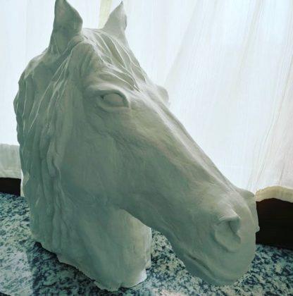 Horse head Sculpture by machegioia®