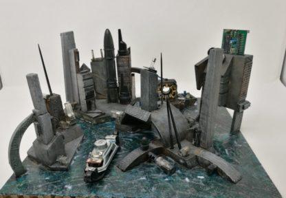 My Cyberia #cyberia_diorama #sci-fi_diorama #diorama #armageddon