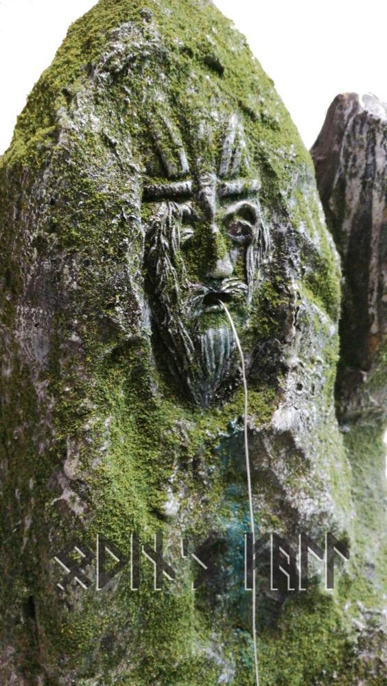 Odin's Fall Diorama - Pagan Scenery