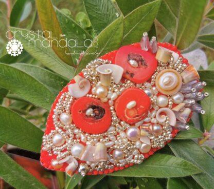 Crystal-Mandala Jewelry, Gioielli Crystal-Mandala, #CrystalMandala_gioielli, #machegioia, machegioia, Crystal Mandala Gioielli, fine handmade jewelry, beaded necklace, Ciondolo cristalli, Beading Pendant, bead embroidery - by #machegioia® - #crystal-mandala.com gioielli fatti a mano, gioielli con cristalli, Enchanted collection, gioielli in tessitura, gioielli su commissione